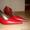 Туфли свадебные белые,  туфли красные #763336
