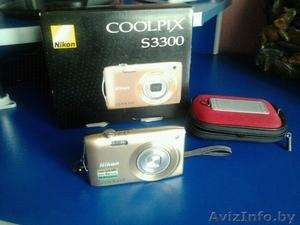 Продам Цифровой фотоаппарат Nikon Coolpix S3300 - Изображение #1, Объявление #1085583