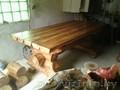 Комплект,  стол и две лавочки