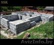 Строительство частных домов,  фундамент,  кладка